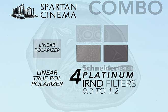 Schneider Platinum IRND + Linear Polarizer Filter Set