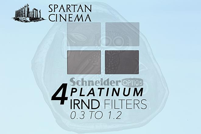 """4x Schneider 4 x 5.65"""" Platinum IRND Filters (0.3 - 1.2)"""