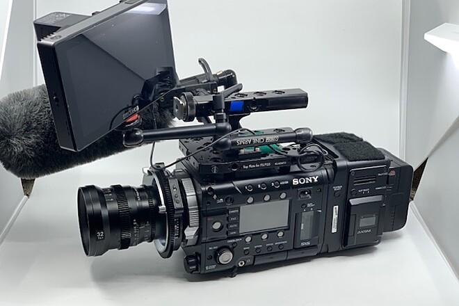 Sony PMW-F55 CineAlta 4K Digital Cinema Camera WITH R7