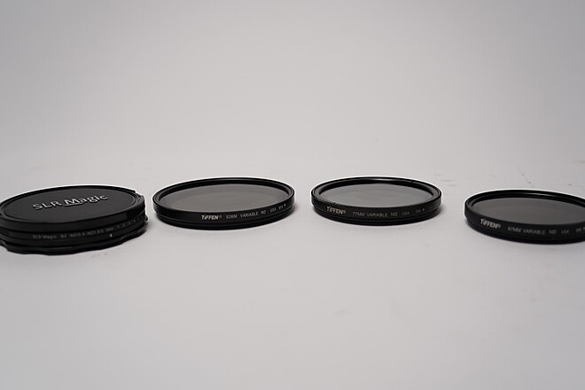 Tiffen 67mm + 77mm + 82mm Variable ND Filters (KIT)