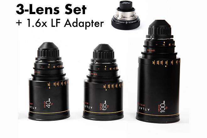 Atlas Orion A-Set 40mm, 65mm, 100mm + 1.6x LF Adapter