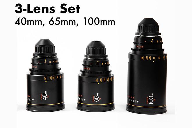 Atlas Lens Co. Orion A-Set 40mm, 65mm, 100mm