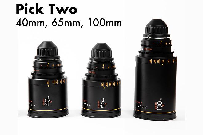 PICK TWO - Atlas Lens Co. Orion A-Set 40mm, 65mm, 100mm