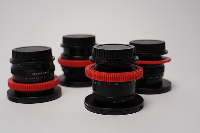 "Tito EF-Mount ""Fake Anamorphics"" Old Russian Lens Kit"