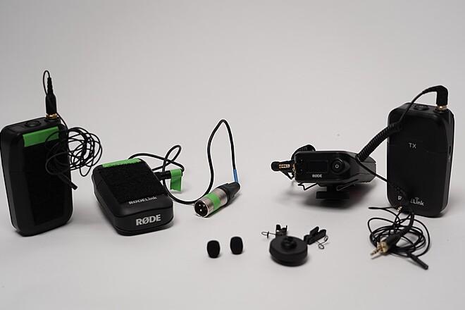 2x Rode Link - Wireless Transmitter/Receiver Kits + Lav Mics