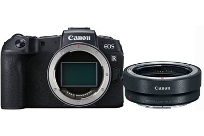 Canon EOS R + EF Adapter + 3 batteries + 1 charger