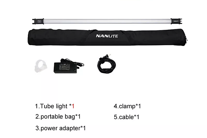 NaNlite  PavoTube package 5 lights
