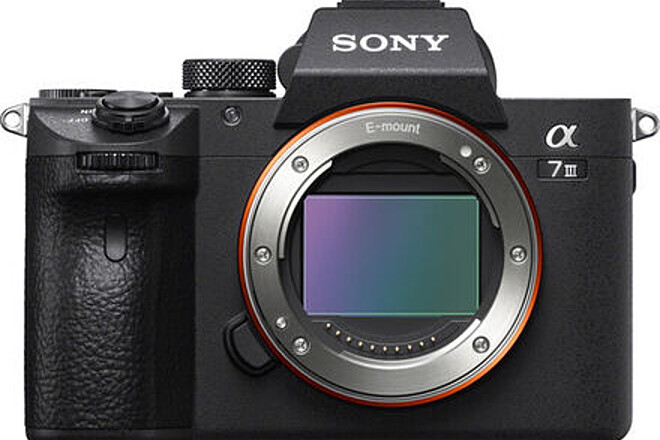 (2/2) Sony a7 III Full-Frame Mirrorless Camera