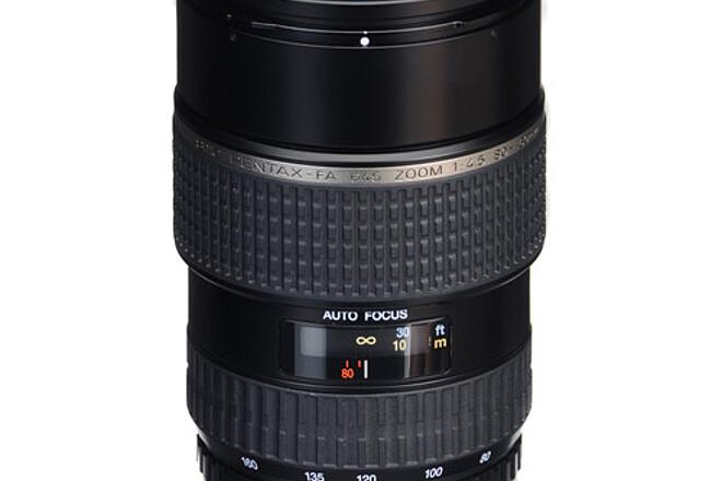 Pentax-FA 645 80-160mm f4.5 + KIPON 645 to E Mount Adapter