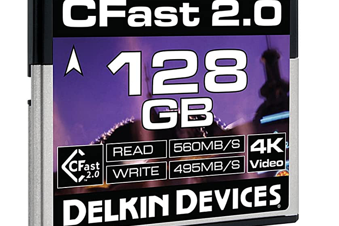 Delkin Devices  Cfast 2.0 128GB media card