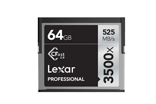 Lexar 64gb CFast 2.0 510MB/s Card