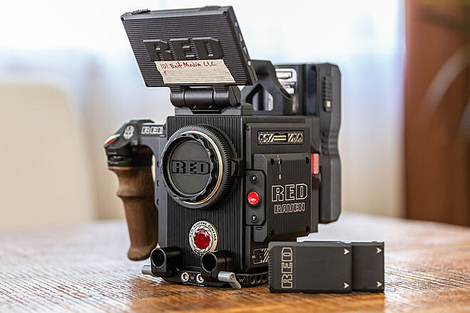 RED Raven 4.5K - Canon EF Mount