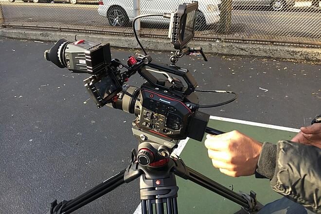 Panasonic's AU-EVA1 Compact 5.7K Super 35mm Cinema Camera