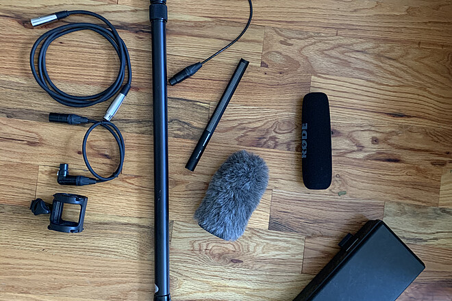 Sennheiser MKH 416 Shotgun Mic with Kit