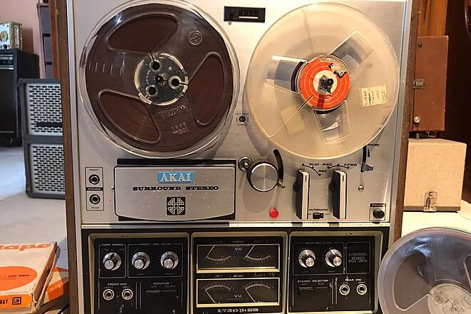 1970 Vintage Reel To Reel AKAI 1730DDS