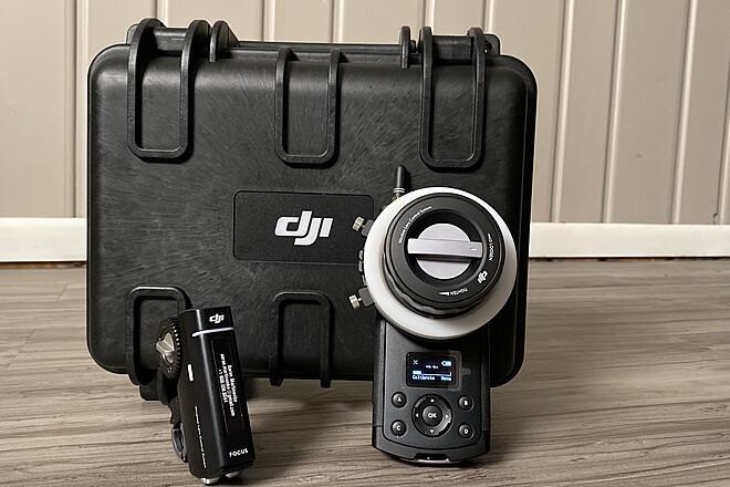 DJI Wireless Follow Focus System - Remote Motor Control