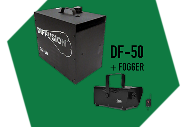 DF-50 Hazer + Fogger (Includes fluid)