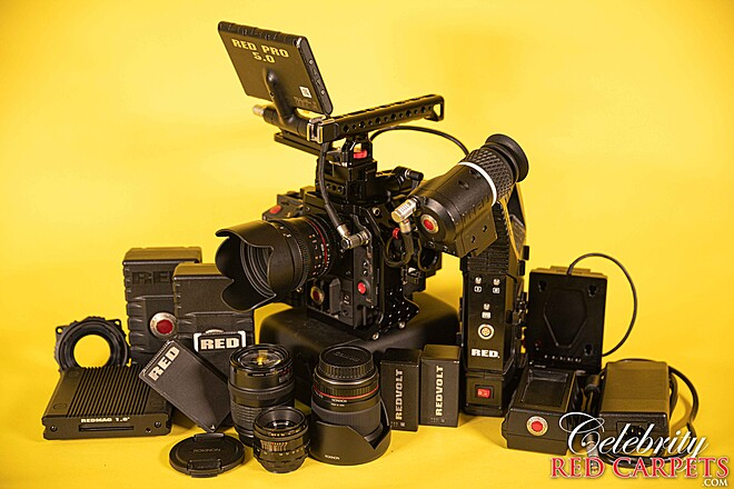 COMPLETE RED EPIC DRAGON KIT (TOO MANY ITEMS TO LIST)