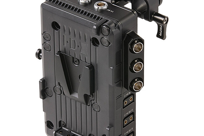 V Mount Plate, Battery & Charger
