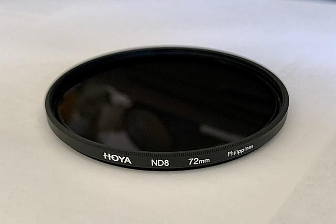HOYA 72mm ND 8 FILTER