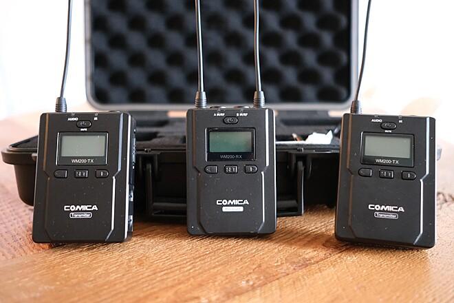 Comica Wireless Lav 2-Person Wireless Lavalier Audio System