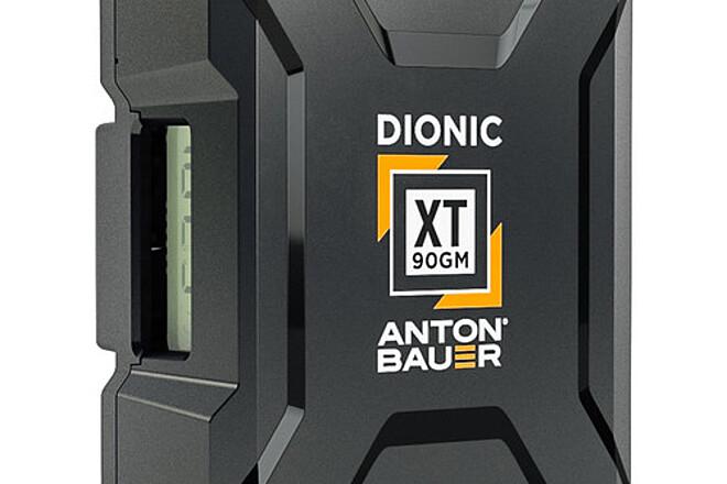 6 x Anton Bauer DionicXT 90wh GM Batteries + 4 LP4 Charger