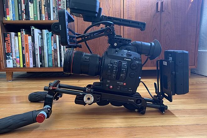 Canon EOS C300 Mark II w/ Lens & Accessories