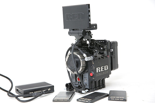 RED Epic Dragon 6K Ready to Shoot(PL Mount/ 4.7 Monitor)