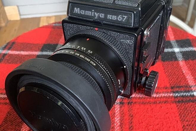Mamiya Rb67 Pro SD Meduim Format Camera with 90mm K/L lens