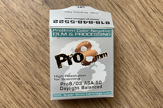 Pro8mm Pro8 / 03 asa 50 daylight balanced film
