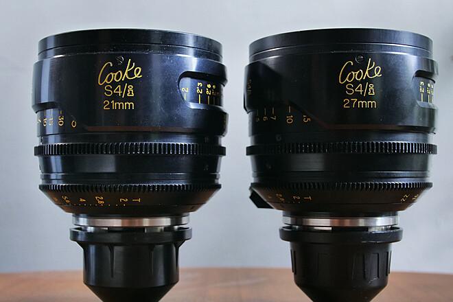 Cooke S4/i 21mm & 27mm 2 Lens Set
