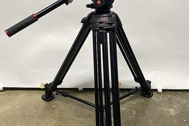 Manfrotto 504HD and 546BK Video Head Tripod
