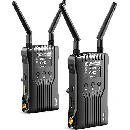 3x Wireless Transmitter & Receiver Set (2 Hollyland, 1 iKan)