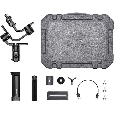 DJI Ronin-S with Monitor Mount, Case and Accessories