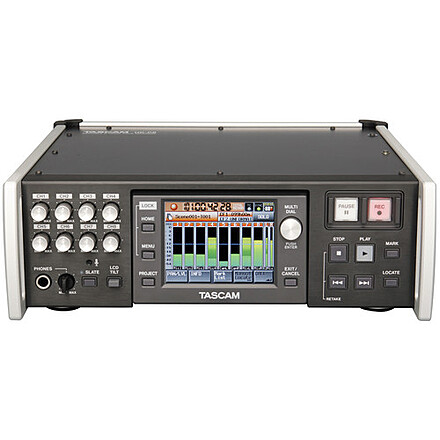 Tascam HS-P82 8 channel and 10 multi track field recorder