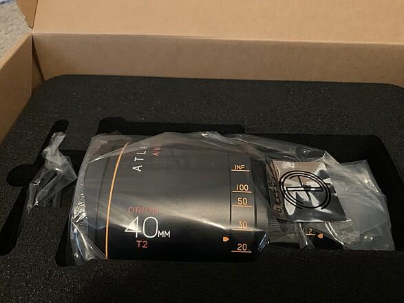 Atlas Lens Co. T2 Orion Series  2 Lens Set - 40 & 65