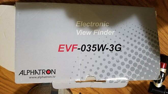 Alphatron  EVF-035W-3G
