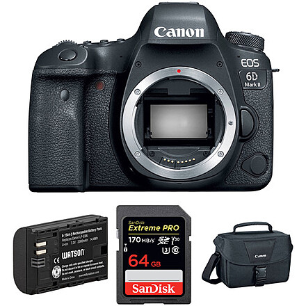 Canon EOS 6D Mark II (with extras)