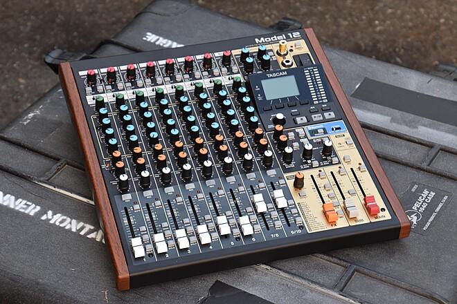 Tascam Model 12 All-In-One Digital Multitrack Recorder/Mixer