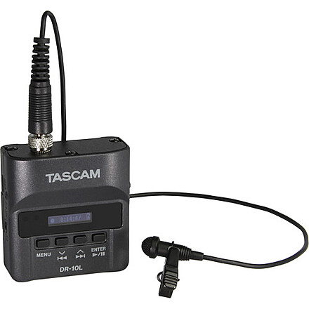Tascam DR-10L (with Lavalier Microphone)