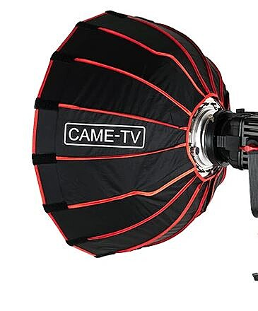 CAME-TV Boltzen 55W LED Fresnel 2-Light Kit + Softbox