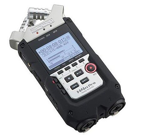 Zoom H4n Pro 4-Channel Recorder +  Memory Card + XLR Cable