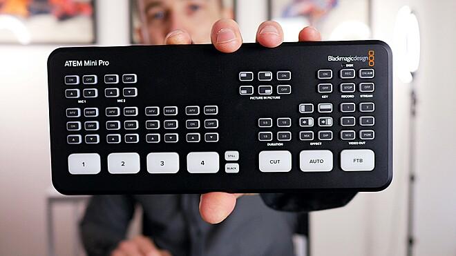 Rent A Blackmagic Design Atem Mini Pro Iso Hdmi Livestream Switcher Best Prices Sharegrid Los Angeles Ca