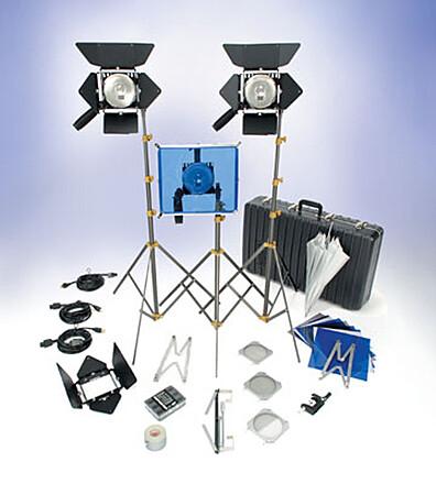 Lowel Omni lighting kit 3 lights