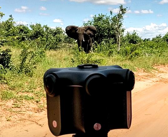Kandao Obsidian R 8K 360 VR Camera, 4 batt, fan & tripod