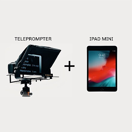 Teleprompter + iPad Mini