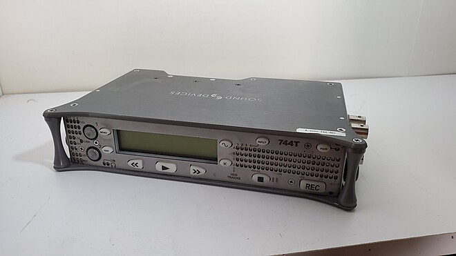 Sound Devices 744T Audio Recorder with Time Code