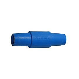 Rent: Leviton 16 Series Double Female Camlock Adapter, Blue