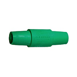 Rent: Leviton 16 Series Double Female Camlock Adapter, Green