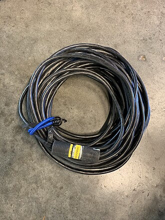 75 ft Stinger - Super Thick Heavy Duty Extension Cord